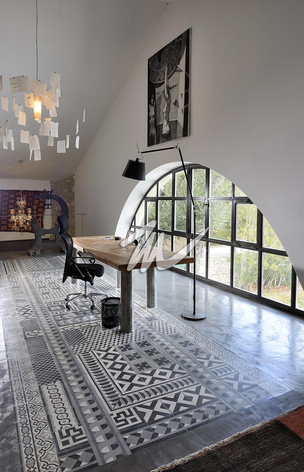 Carrelage intérieur imitation carreaux de ciment 02