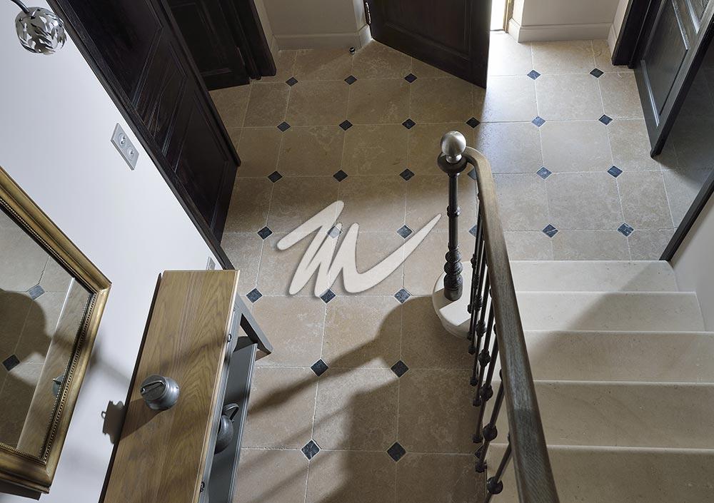 Escalier pierre marbre 16