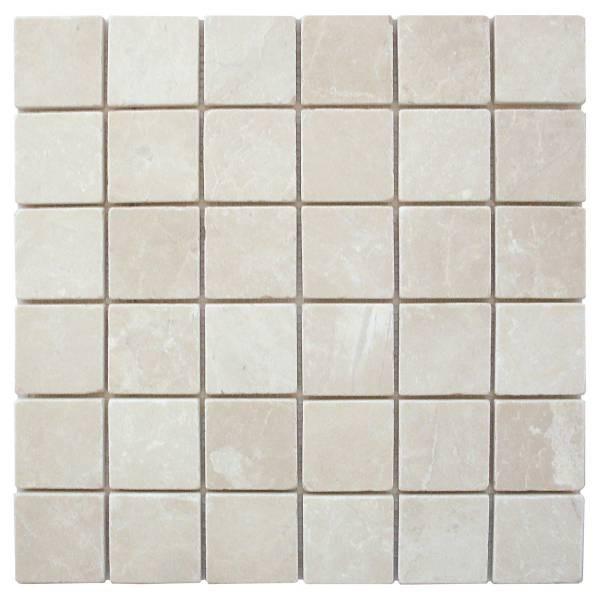 4.8×4.8×1 Mosaique Beige Marble Vieilli